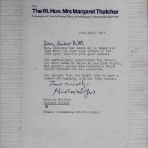 MargarethThatcher