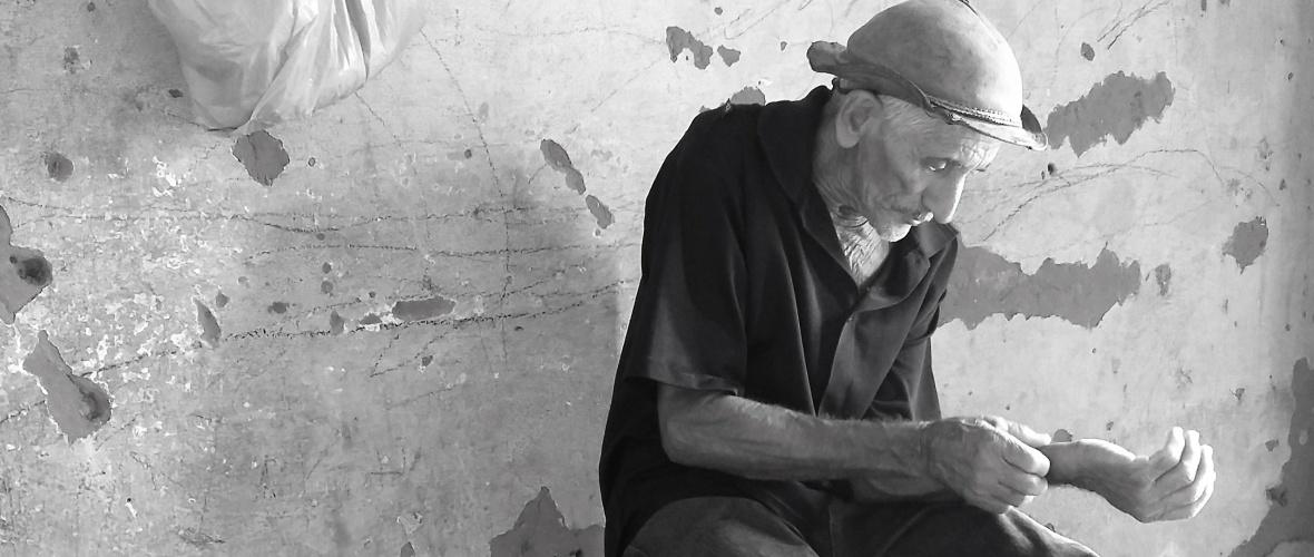 Pedro Regis diz que só deixa o Parque de Canudos quando morrer. Foto: Paulo Oliveira