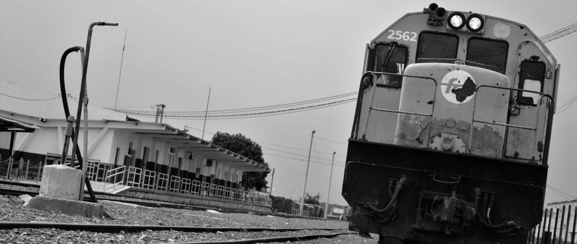 Os trens circulam no município desde 1882. O antigo lugarejo de Sítio Novo cresceu em torno da estação ferroviária. Foto: Natália Silva