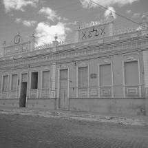 Prédio da prefeitura e da antiga cadeia pública de Queimadas. Foto: Paulo Oliveira