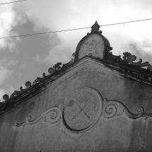Detalhe do prédio onde funcionava o quartel e a cadeia pública. Foto: Paulo Oliveira