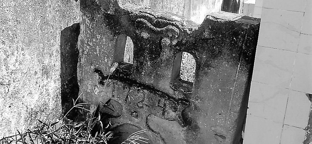 Túmulo construído em 1924. Foto: Paulo Oliveira
