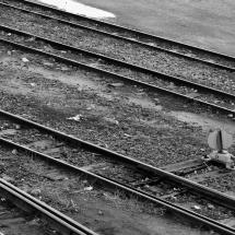 Desvio na linha férrea de Iaçu. Foto: Natália Silva