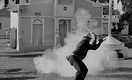 Bacamarteiro em ação. Foto: Divulgação