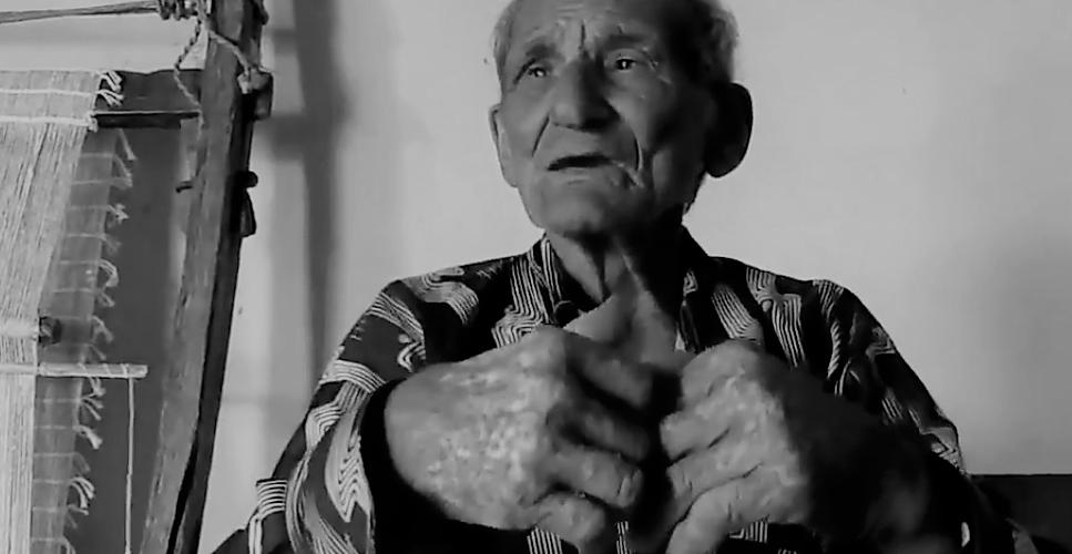 Pedro fala dos encantamentos da caipora. Foto: Paulo Oliveira
