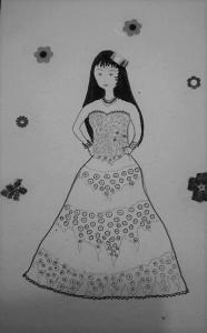 Cigana lembra o reisado de Carmelita. Reprodução do Facebook