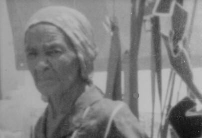 Dora, doceira de Rodelas (BA), morreu em 1997, aos 91 anos. Foto: Álbum de família
