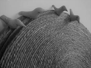 Trinta e cinco artesãos e artesãs de Santa Brígida, Euclides da Cunha e Jeremoabo trabalham com fibra de licuri e madeira. Foto: Paulo Oliveira