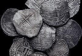 Primeiro relato da descoberta de botija com moedas foi feito em 1729. Reprodução