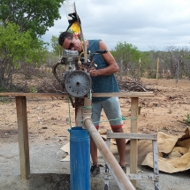 preparando o motor
