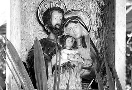 A Sagrada Família zela pelo sem-terra. Foto Joabes R. Casaldáliga