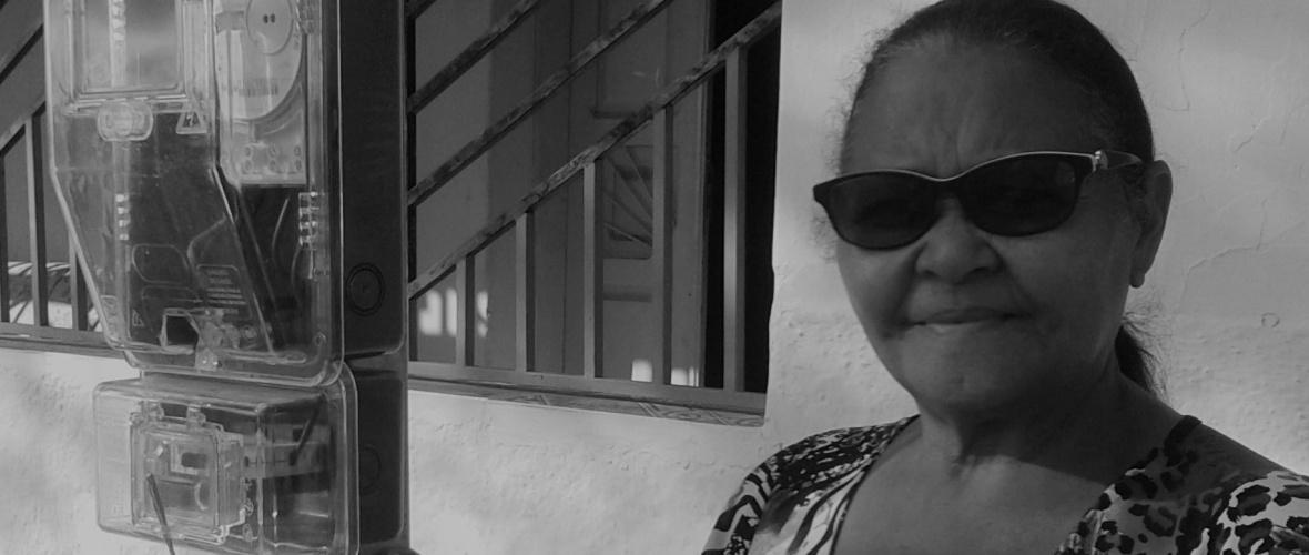 Josefa espera a chegada da energia elétrica há mais de 50 anos. Foto: João Batista Cruz Arfer