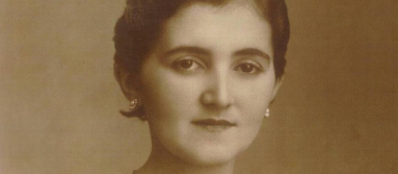 A inesquecível professora Dulcina Cruz Lima. Foto: Reprodução