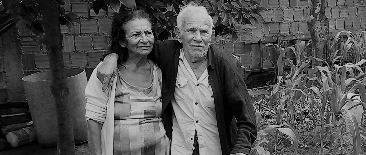 Lita e Moisés, 64 anos de casados. Amor pela vida e pela música. Foto: Paulo Oliveira