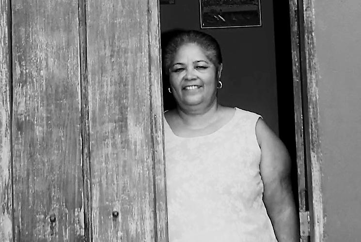 Mãe Iraci de Iansão. Reprodução do vídeo de Helenita Monte de Hollanda