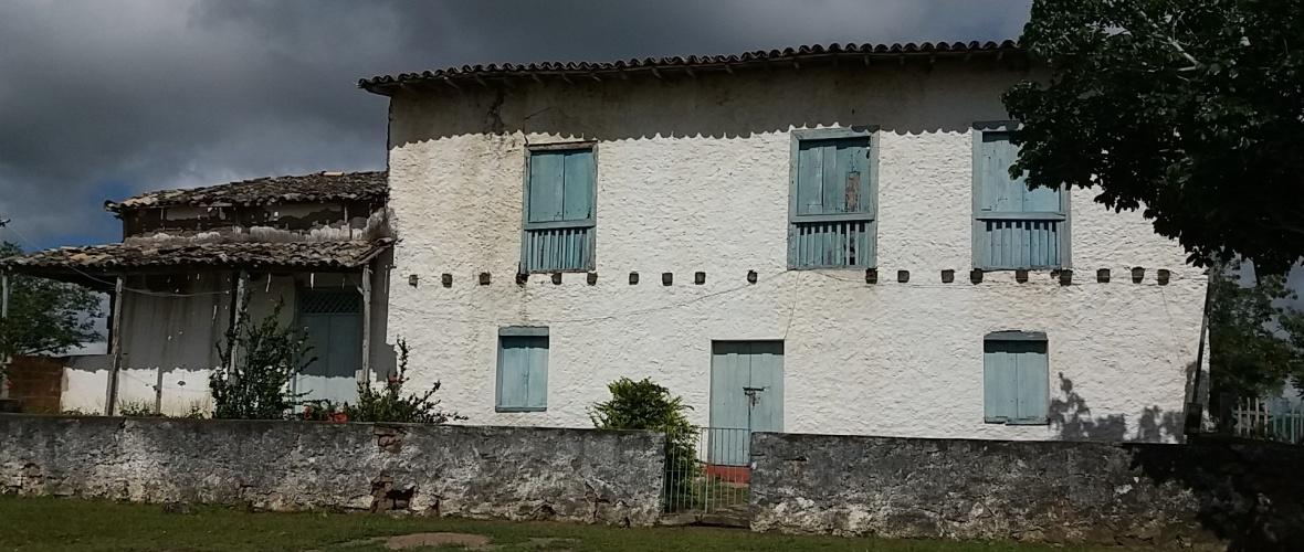 Fachada da Casa da Fazenda Paratigi do Barão. Foto: Paulo Oliveira