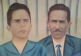 Dona Safira (Firinha) e seu Bento. Álbum de família