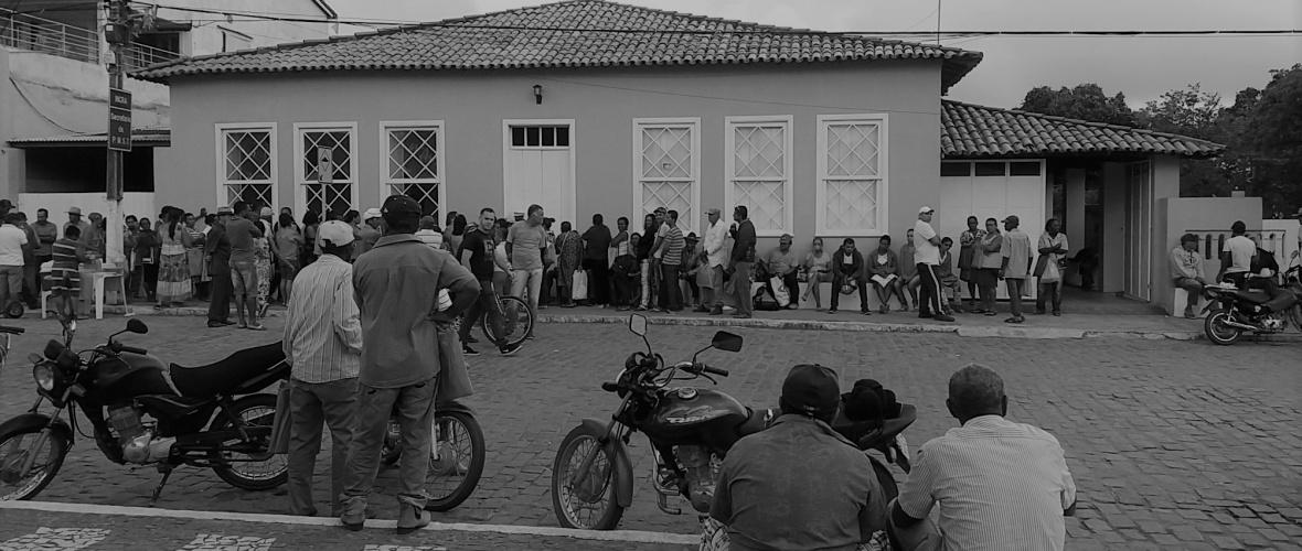 Casa onde funcionam três secretarias municipais seria assombrada. Foto: Paulo Oliveira