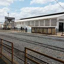 Vista geral da estação