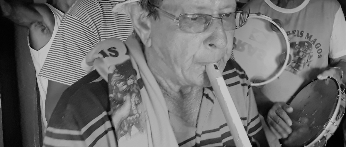 Xixe, o gaiteiro. Foto: Paulo Oliveira