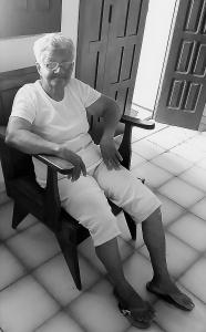 Trauma deixou Nazinha desgostosa com a política. Foto: Paulo Oliveira