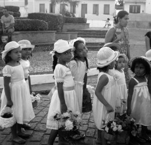 As Pastorinhas é um grupo de crianças com idades entre 6 e 12 anos, existente a mais de 100 anos, em Boa Nova. Foto: Reprodução do blog Boa Nova uma utopia.