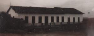 Foto da casa grande da Fazenda Guigó, em 1952. Reprodução