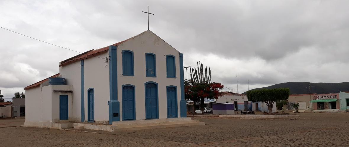 Igreja Nossa Senhora da Purificação, construída por volta de 1850, em Catingal. Foto: Paulo Oliveira