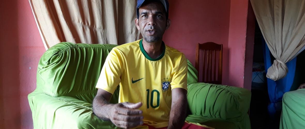 Orlando Ribeiro do Nascimento, o Cutinga, agricultor e pequeno criador de animais. Foto: Paulo Oliveira