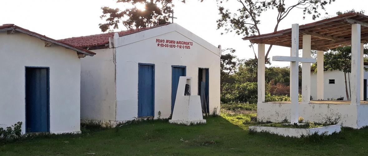 Santuário de Pedro Afonso Nascimento, em Ribeirão do Largo. Foto: Paulo Oliveira