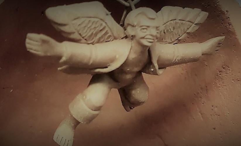 Anjo sertanejo. Frame do vídeo do canal Cultura Popular Brasileira