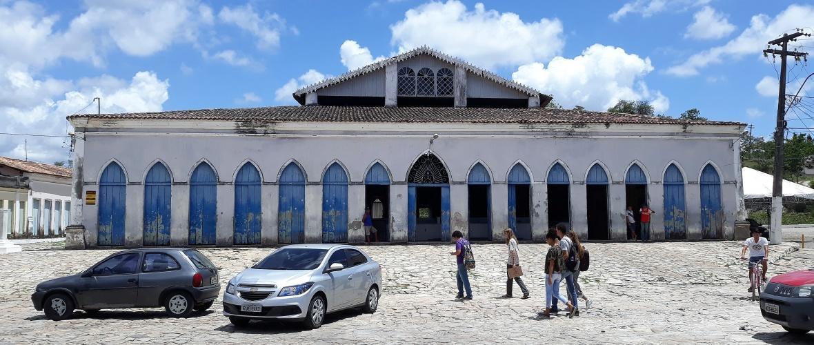 Antigo mercado de Laranjeiras (SE). Foto: Paulo Oliveira