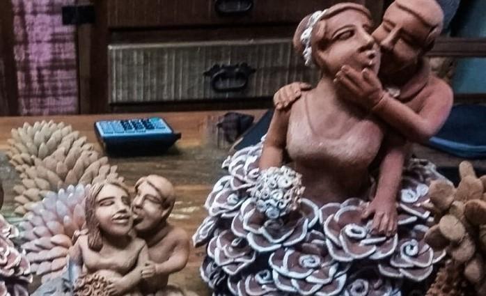 As noivas deram fama à Tita de Capela (AL). Reprodução