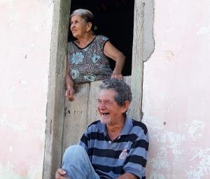 Saturno e a esposa. Foto: Paulo Oliveira