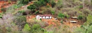 Comunidade Mal dormida, em Maiquinique.Foto: Joabes R. Casaldáliga