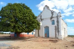 A igreja da ilha do Miradouro. Foto: Rita Barrreto/Secult