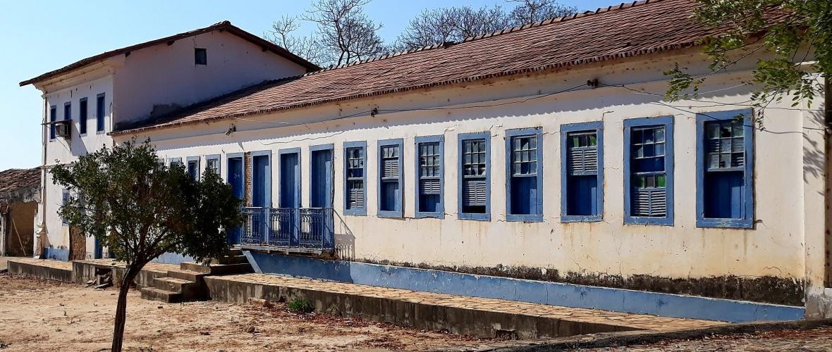 Casa grande da antiga Fazenda Alegria. Foto: Paulo Oliveira