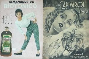 Biotônico e Capivarol: publicações concorrentes. Foto: Paulo Oliveira