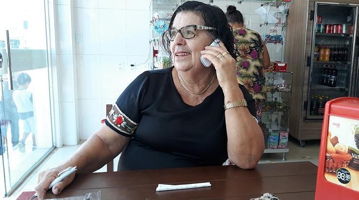 Elita Pereira, empresária. Foto: Paulo Oliveira