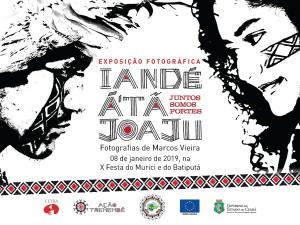 Cartaz da exposição fotográfica. Reprodução