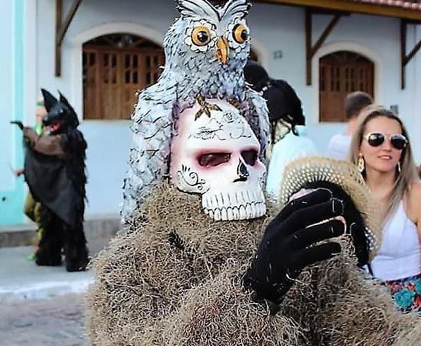 Um jurado não acreditou que a máscara de caveira era artesanal. Foto: É Nóis