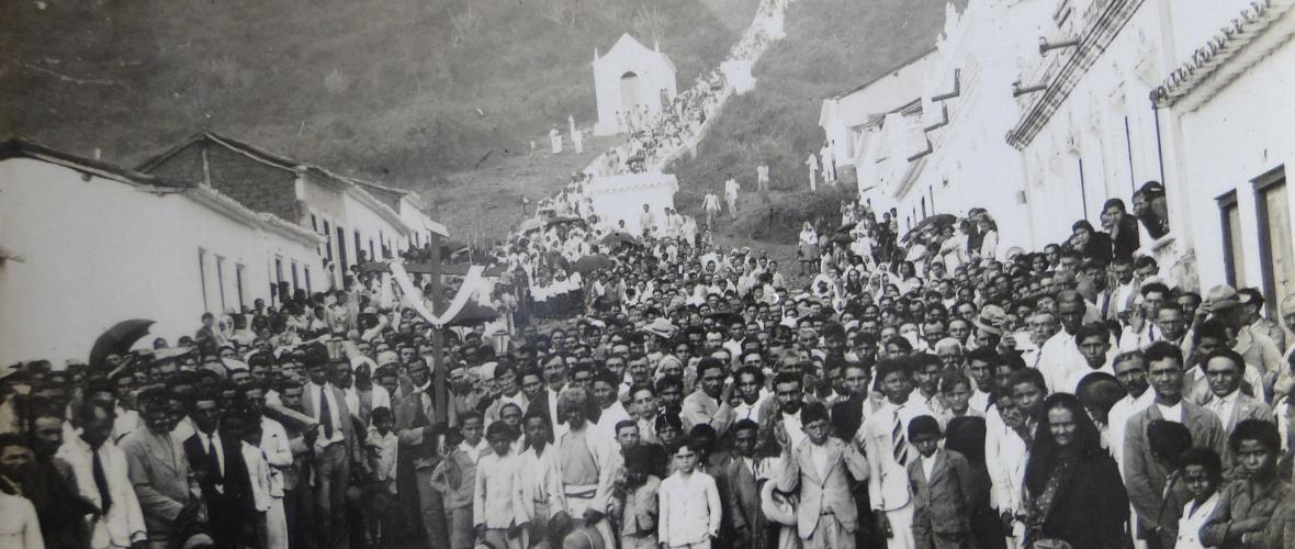 Sexta-feira da Paixão. Década de 1930. Foto: Acervo Dedegas