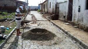 Buraco da rua foi consertado. Foto: Caritas Paroquial
