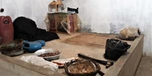 Casa de farinha desativada. Foto: Paulo Oliveira