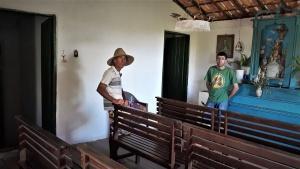 As duas portas serviam para separar os homens das mulheres. Foto: Paulo Oliveira