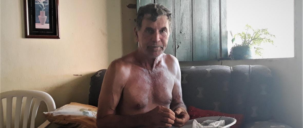 O vaqueiro Miguel Alves Pereira, 72 anos, Foto: Paulo Oliveira