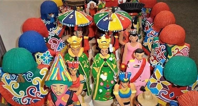 Personagens do maracatu rural fazem parte dos trabalhos de Nando. Foto: Facebook pessoal