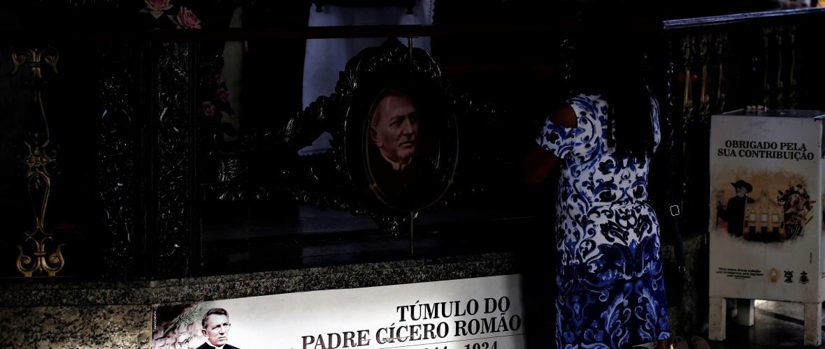 O corpo de Padre Cícero está sepultado na Igreja de Nossa Senhora do Socorro. Foto: Severino Silva