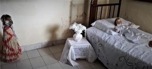 Praiá (entidade encantada) dos Pankacaru no quarto onde Pedro Batista passou os últimos dias. Foto: Paulo Oliveira