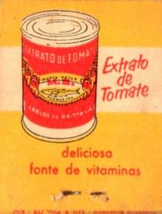 Extrato de tomate Peixe. Reprodução de anúncio